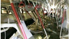 保護系統異常?港鐵兩列車測試時相撞 兩司機幸運僅受輕傷(圖/翻攝自on.cc東網)