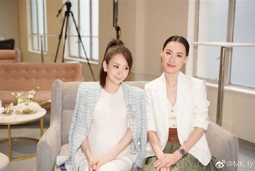 郭富城,方媛,懷孕,男寶寶 /翻攝自方媛微博