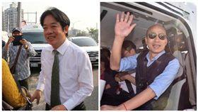 賴清德、韓國瑜 合成圖/資料照、翻攝自臉書