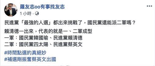 羅友志臉書 圖/翻攝自臉書