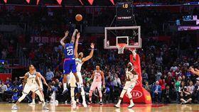 NBA/絕殺!盧長老生涯首顆致勝球 NBA,洛杉磯快艇,Lou Williams,布魯克林籃網,絕殺 翻攝自推特