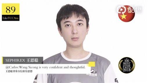 王思聰入選中國百大帥哥榜。(圖/翻攝自《TC Candler》微博)
