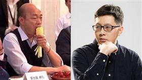 王浩宇,韓國瑜,手帕,新聞 圖/臉書