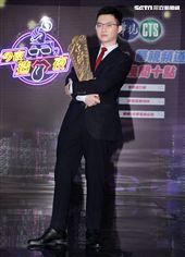 網紅視網膜主持的新節目「今夜造口夜」在華視舉辦開播記者會。(記者邱榮吉/攝影)
