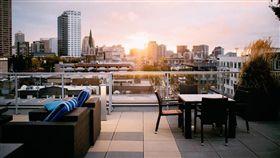 露台、陽台、公寓(圖/翻攝自pixabay)