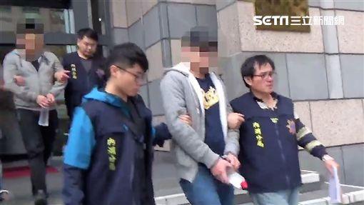台北市1名張姓男子,曾犯下信義殺警案,日前又為了討債對空鳴槍,警方循線將他逮獲,訊後依槍砲罪移送法辦(翻攝畫面)