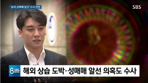 勝利/翻攝自SBS新聞YouTube