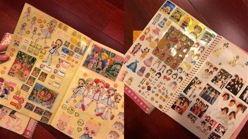 貼紙簿,貼紙,童年,回憶,爆怨公社 圖/翻攝自臉書爆怨公社