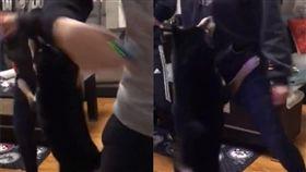 黑柴跳舞。(圖/翻攝自也是可以吃的Oreo 臉書)