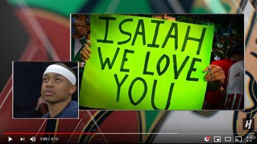 ▲湯瑪斯(Isaiah Thomas)重返波士頓,塞爾提克播感謝影片。(圖/翻攝自House of Highlights)