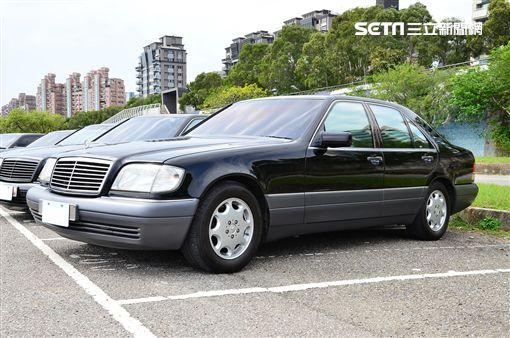 ▲Mercedes-Benz W140 S-Class。(圖/鍾釗榛攝影)