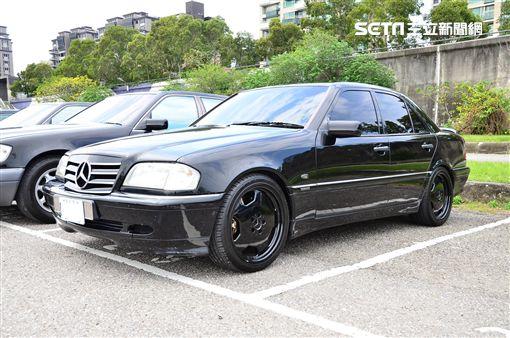 ▲Mercedes-Benz W202 C-Class。(圖/鍾釗榛攝影)