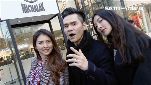 吳速玲、韋汝以及彩妝老師Kevin《女人我最大》前進東京 圖/TVBS提供