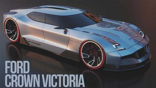 ▲Ford Crown Victoria概念車。(圖/翻攝網站)