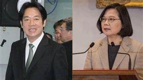 賴清德,蔡英文,民調,2020,總統 圖/記者邱榮吉攝影,資料照