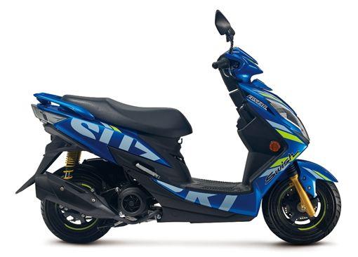 ▲Suzuki Swish 125。(圖/Suzuki提供)