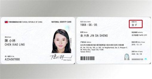 數位身分識別證,身分證,國旗,王浩宇圖/翻攝自王浩宇臉書