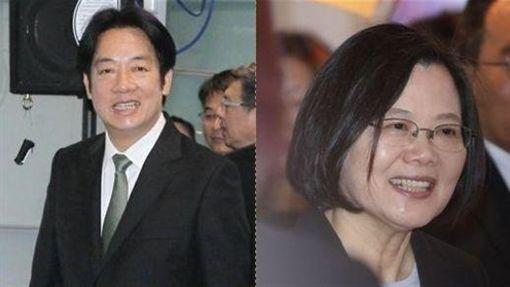 賴清德,蔡英文 圖/邱榮吉攝影,林士傑攝影