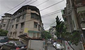 台北,景美,萬盛街,上吊,心情不佳。翻攝自Google Map