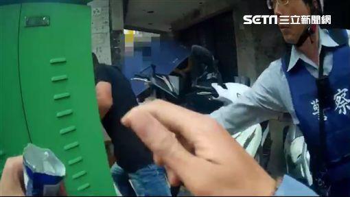 台中毒蟲跑給警追/翻攝畫面