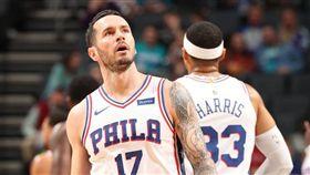 JJ Redick。(圖/翻攝自NBA官方推特)