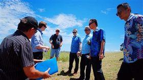 美方18日在臉書上主動公布白宮國安會資深主任博明與我外交部次長徐斯儉同框現身索羅門群島的照片,圖翻攝自U.S. Embassy - Port Moresby, Papua New Guinea臉書