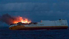▲義大利籍貨輪Grande America發生火燒船意外。(圖/翻攝網站)