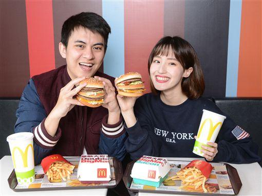 麥當勞,大麥克,漢堡。(圖/業者提供)
