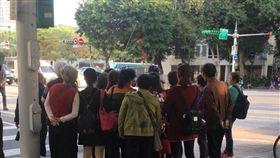 中國,陸客,市議會,國父紀念館,導遊(圖/翻攝自臉書)