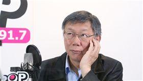 ▲黃暐瀚專訪台北市長柯文哲,(圖/《POP撞新聞》提供)