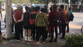 導遊,台灣,市議會,打架,潑水,爆怨公社 圖/翻攝自臉書爆怨公社