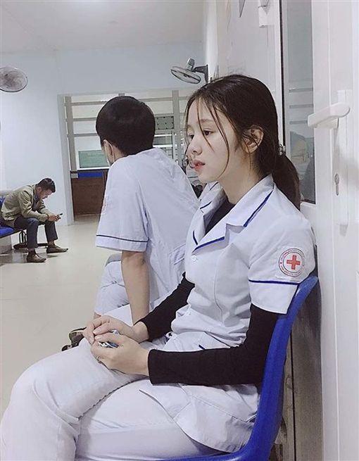 越南,護士,正妹,偷拍/翻攝自臉書