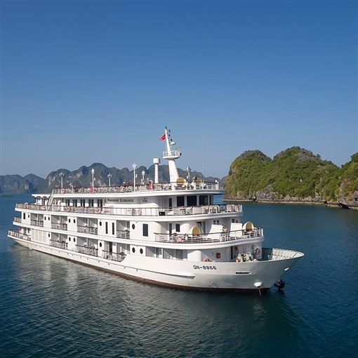 ▲北韓參訪團也曾搭過天堂雅儷號(圖/盈達旅遊)