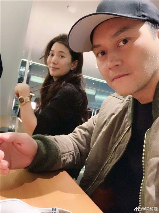 張智霖與袁詠儀/《妻子的浪漫旅行2》。微博