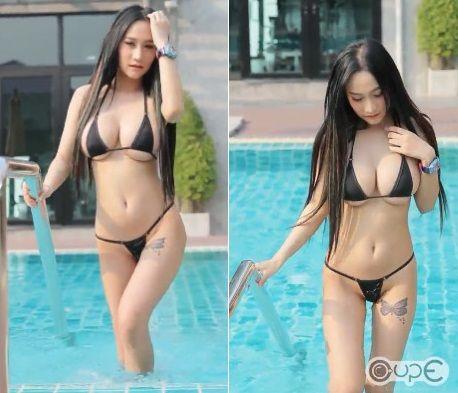 Tipsuda Sombatrak,泰國,辣模/翻攝臉書Cup E