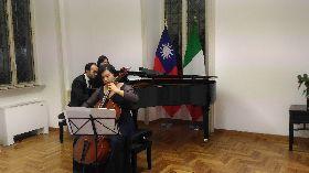 駐義代表處首辦音樂會 大提琴家林若禪