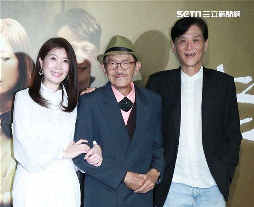 國片《老大人》首映,小戽斗、黃嘉千、喜翔等人出席。(圖/記者林士傑攝影)