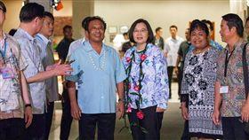 蔡英文,總統,2020,海洋民主之旅,帛琉 圖/翻攝自蔡英文臉書