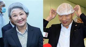 盧秀燕,韓國瑜 圖/翻攝自臉書、高雄市政府提供