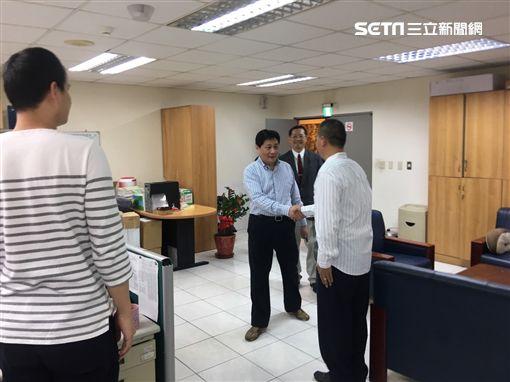新任警察局長陳檡文到訪慰勤,瑞芳警分局全員士氣大振喜歡迎