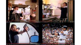 ▲水手隊2006年拍攝的廣告,用鈴木一朗的打擊準備姿勢當廣告哏。(圖/翻攝自水手YouTube)