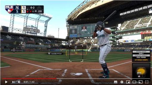 ▲棒球電玩《THE SHOW 18》還可以玩到鈴木一朗。(圖/翻攝自YouTube)