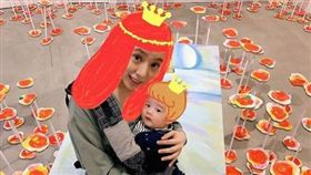林宥嘉跟丁文琪去(2018)年7月底生下兒子「酷比」。IG