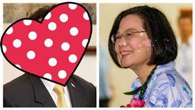 蔡英文與帛琉總統