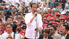 印尼總統佐科威連任穩 年輕民主挑戰大 中央社