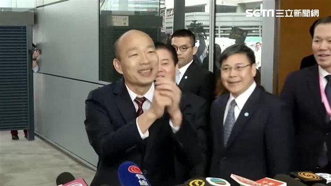 議員踢爆:韓國瑜出訪行程…配合「中國統戰路徑」規劃!
