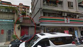 基隆,中正路,警察宿舍,鬼屋,改建(圖/翻攝自Googlemap)