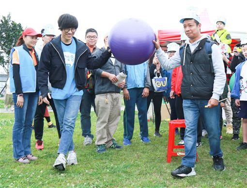 盧廣仲3月23日出席健走活動。(圖/記者林士傑攝影)