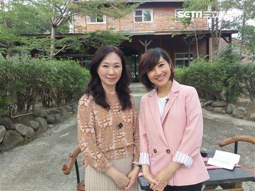 高雄市長夫人李佳芬、主播林益如《台灣名人堂》 圖/台視提供