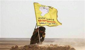 敘利亞民主力量擊潰IS 拿下境內最後據點 (圖/翻攝自推特)